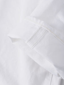 Okome Cotton White Denim Charlotte Pants