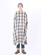 Indian Flannel Big Shirt Dress