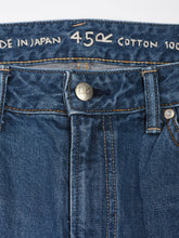 Ai Indigo Akanehime One Wash Denim Cotton Pants 1215