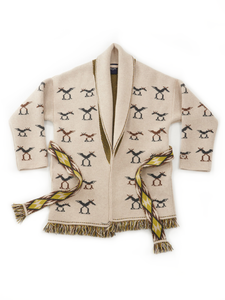 Cashmere Navajo Jacquard 908 Cowichan in Beige