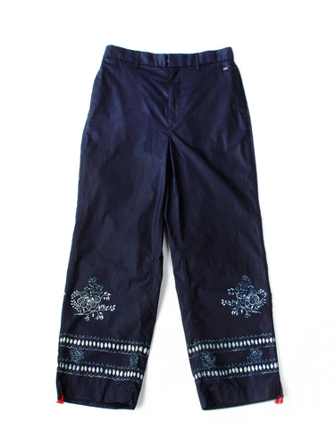 Indigo Tapet Coating Pants