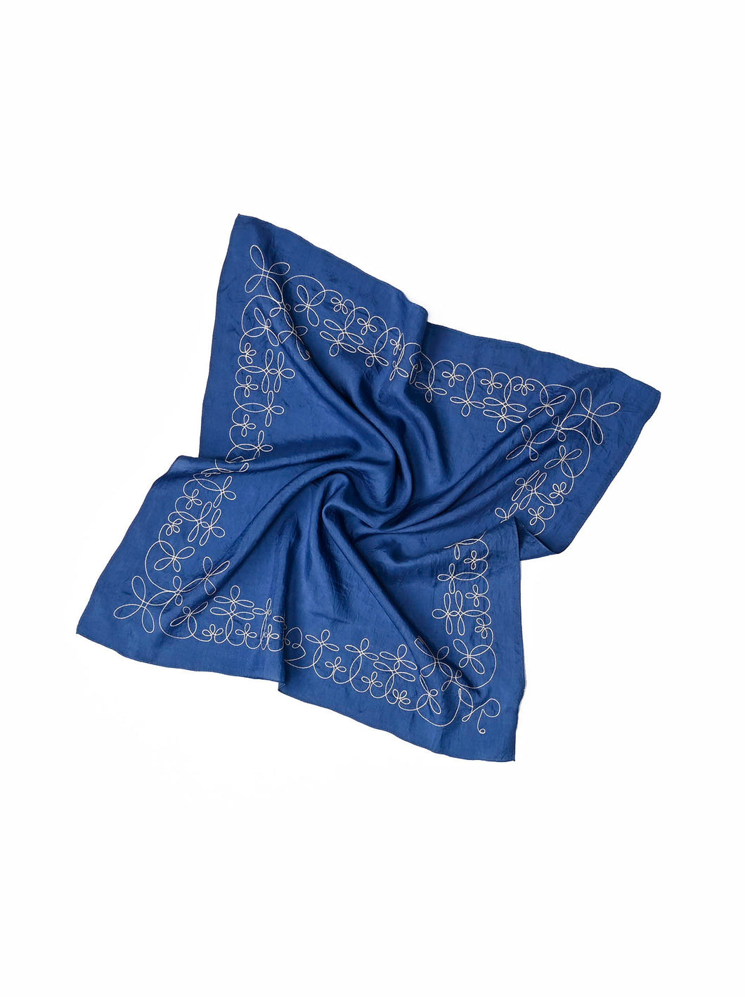 Code Cotton Embroidery Bandana Flower in ai