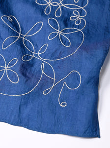 Code Cotton Embroidery Bandana Flower