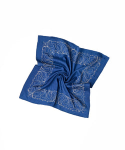 Code Cotton Embroidery Bandana Paisley
