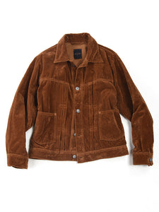 Velveteen 908 G Jacket in Golden Brown