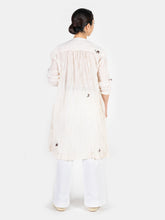 Tasser Khadi Hand Embroidery Dress