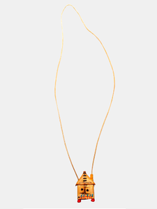 Henry Cuir Necklace Maison (Natural)