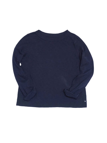 45 Star Square T-Shirt in Navy