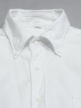 Cotton Oxford Embroidery Short Sleeve Shirt