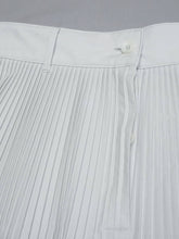 Damp Cotton Pleats Skirt