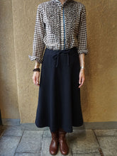 Jersey Flannel Wool Cotton Skirt