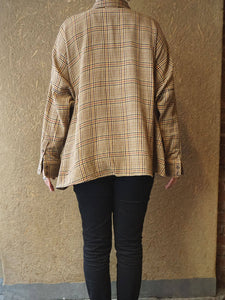 Indian Cotton Thin Flannel Big Shirt