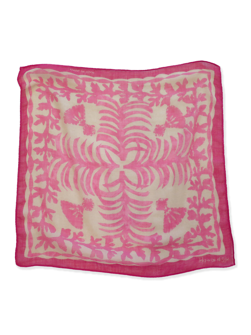 Hawaii Exclusive Quilt Bandana in pink
