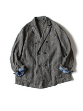 Cotton Tweed Wool Jacket