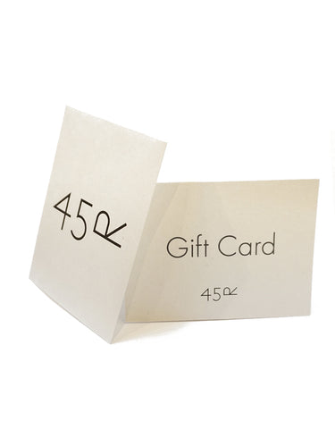 45R Gift Card