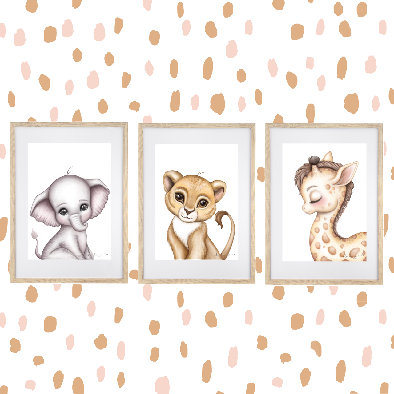 Animal Spots- Fabric Wall Decals