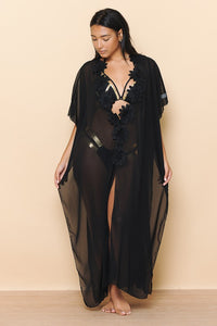 Chic Full Mesh Cover-Up