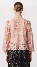 Load image into Gallery viewer, Champagne & Strawberry: Applique Top with Gold