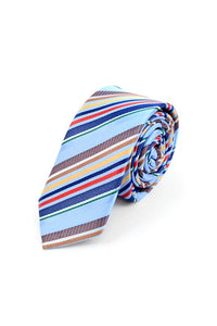 SALE Silky Stripped Business Neck Tie