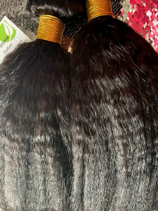 Gold Label Kinky Straight Malaysian Hair
