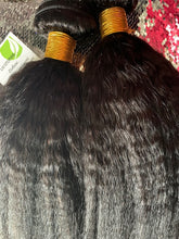Load image into Gallery viewer, Gold Label Kinky Straight Malaysian Hair