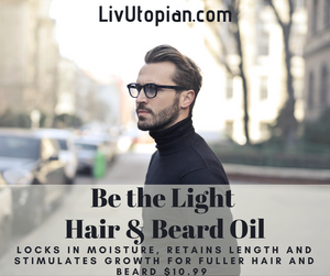 Be The Light Hair & Beard Oil