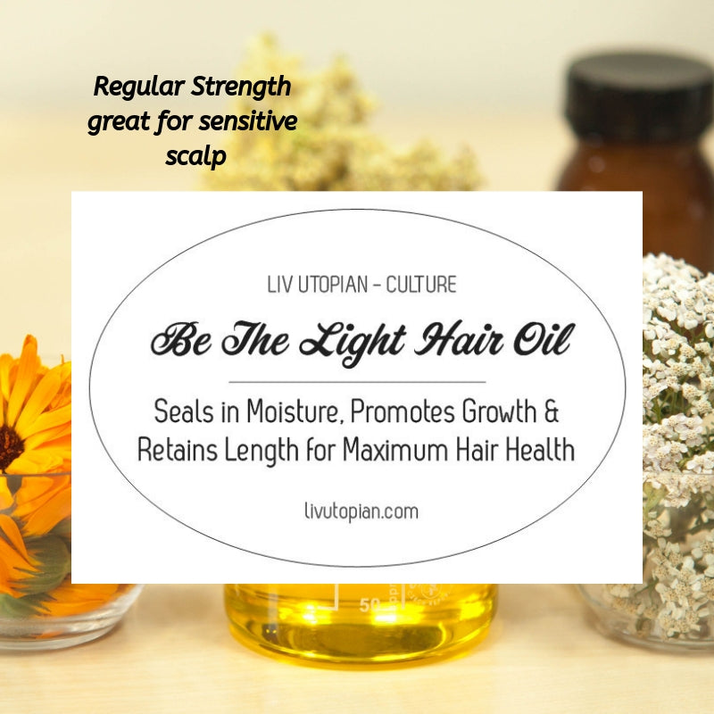 Be The Light Hair Oil