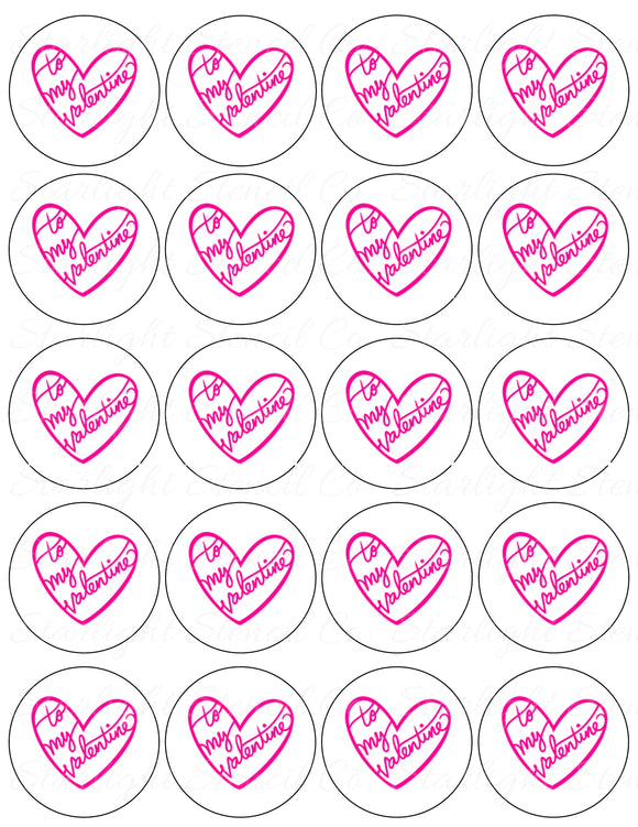 To my Valentine PDF tags