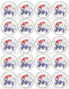 4th of July PDF tags