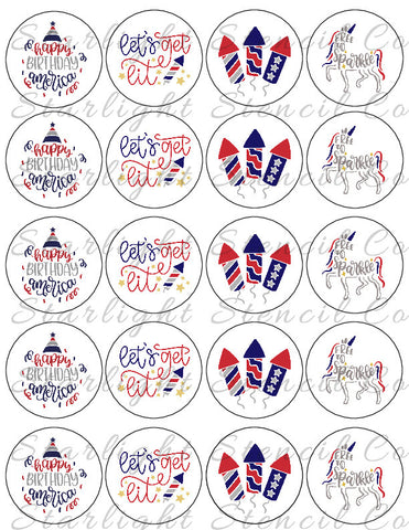 4th of July Mix PDF Tags