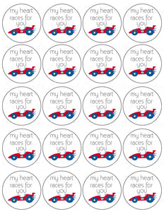 My heart races for you PDF tags