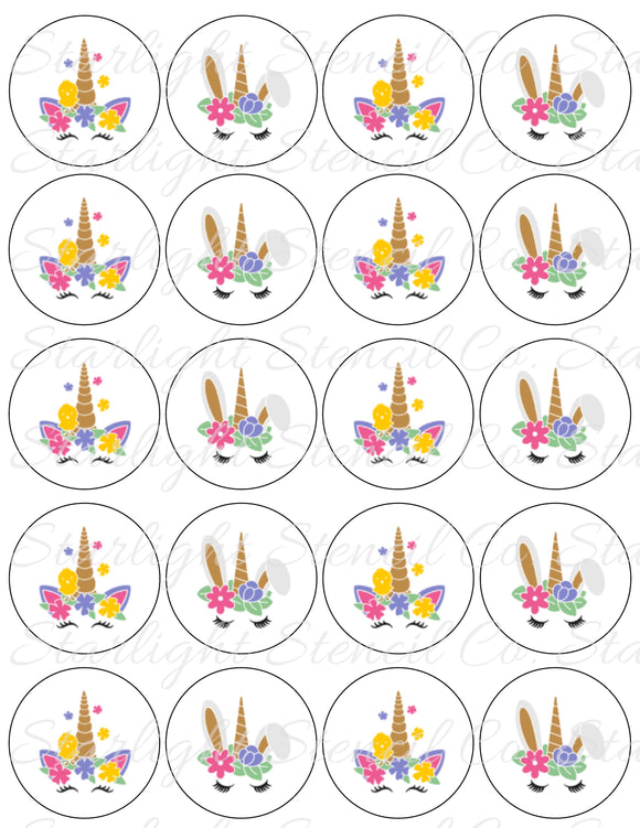Easter Unicorn PDF tags