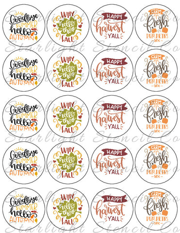 Fall Mix PDF tags