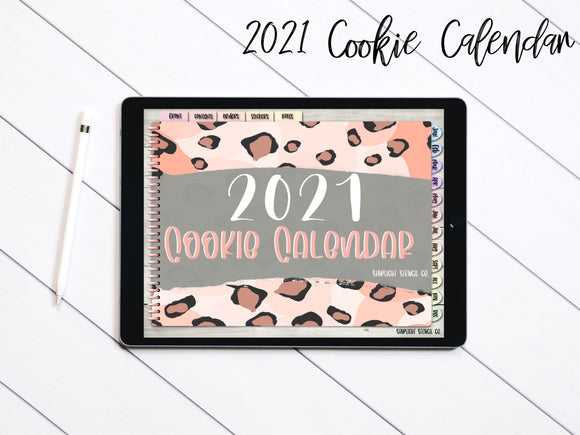 2021 Digital Cookie Calendar