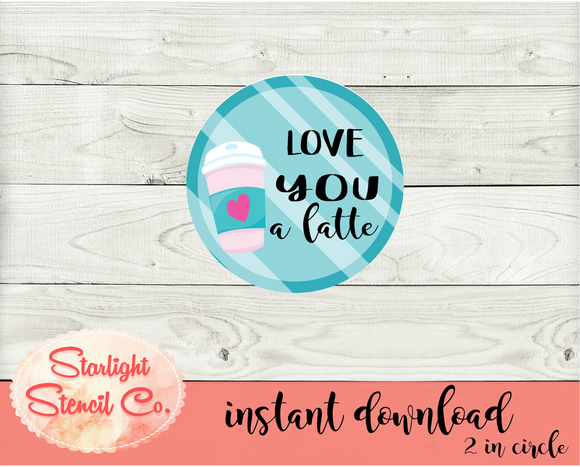 Love you a latte PDF tags