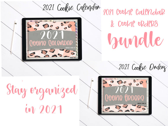 BUNDLE | 2021 Digital Cookie Calendar + Cookie Order Forms