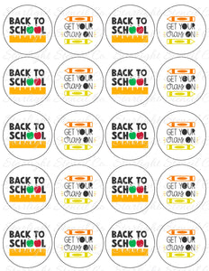 Back to school PDF tags
