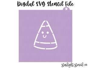 Candy Corn SVG stencil file