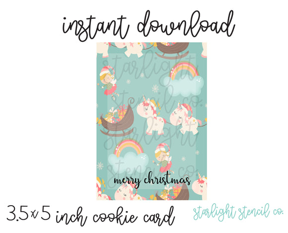 Fairy Unicorn PDF card