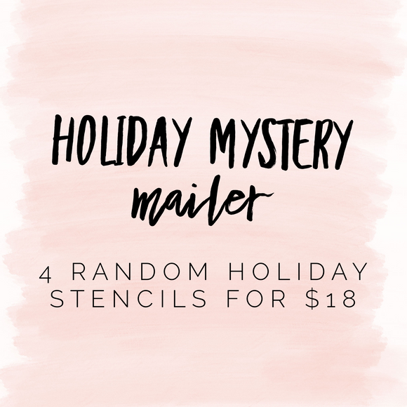 Holiday mystery mailer!