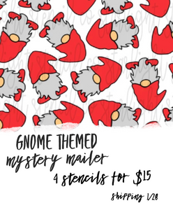 Gnome themed mystery mailer | shipping 1/28