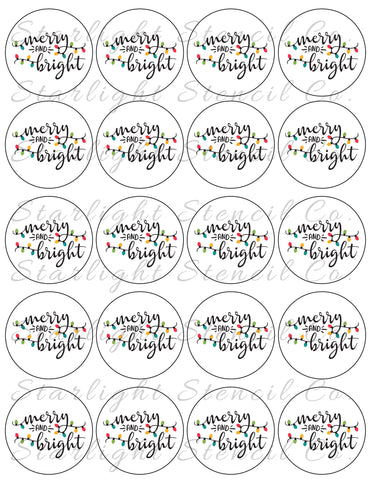 Merry & Bright PDF tags
