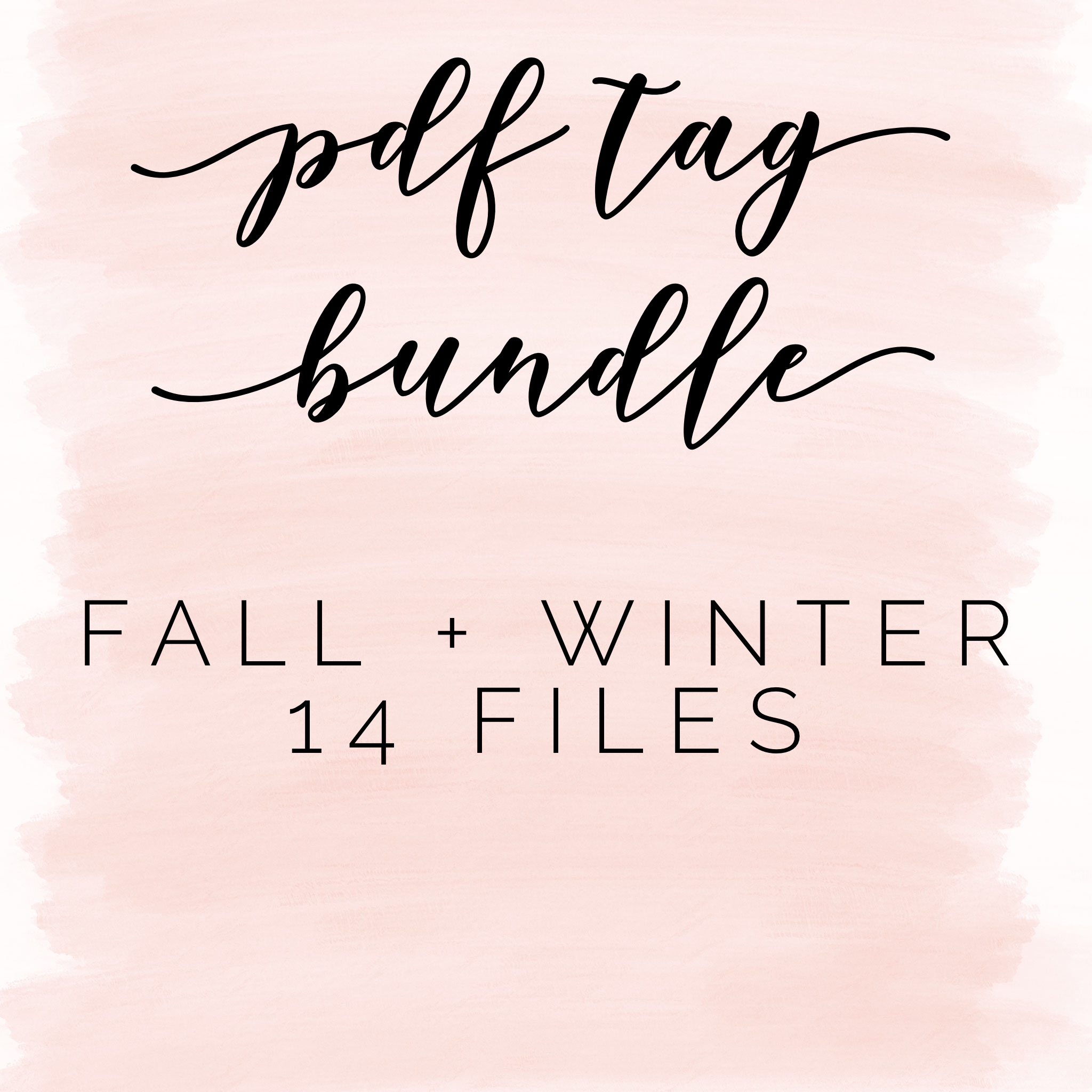 Pdf bundle: fall + winter