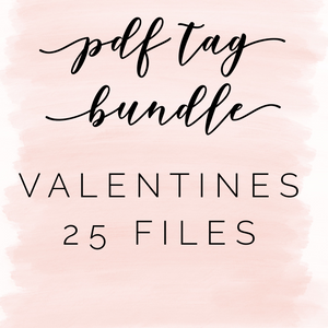Pdf tag bundle: Valentine's Day