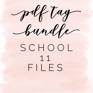Pdf file bundle: School