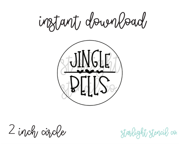 Jingle Bells Hearts PDF tags