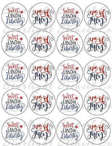 July 4th/Land of Liberty PDF tags