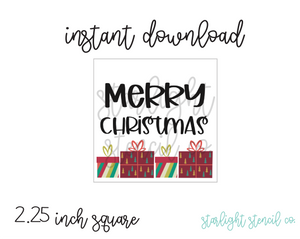 Merry Christmas Gifts PDF tags