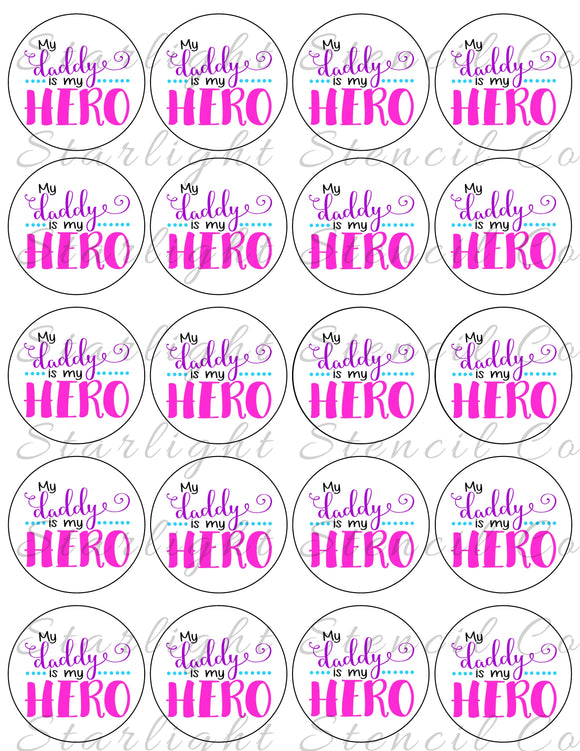 My Daddy is my Hero PDF tags