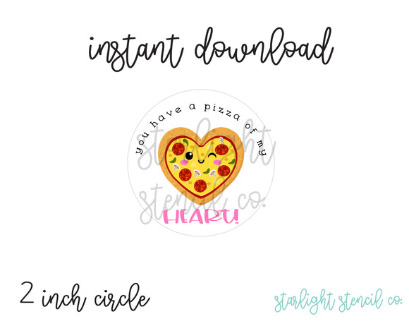 You have a pizza of my heart PDF tags